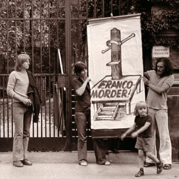 2. März 1974 Spanische Botschaft Wien