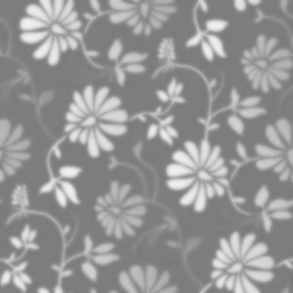 flower pattern gray
